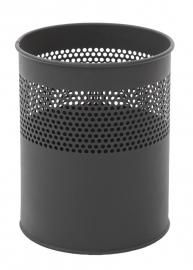 Half geperforeerde papierbak zwart - 10 liter