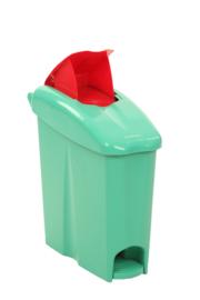 Pedaalemmer Binny P goen - 17 liter
