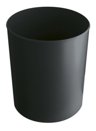 Vuurbestendige papierbak zwart - 20 liter