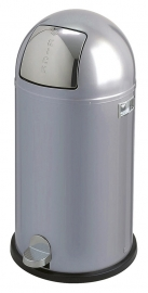 Kickboy, Wesco aluminium grijs - 40 liter