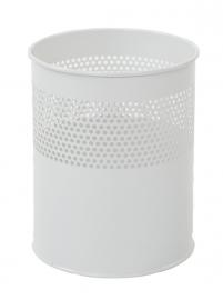 Half geperforeerde papierbak wit - 10 liter