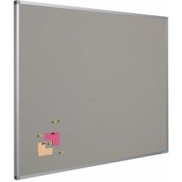 Prikbord bulletin 450x600mm grijs