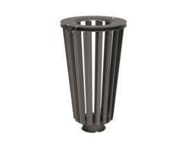 Afvalbak Lofoten staal - 80 liter