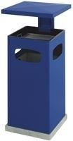 As-papierbak met afneembaar afdak blauw - 70 liter