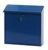 Wandbrievenbus Malagan 370x115x370mm blauw