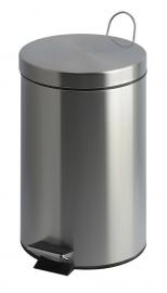 Pedaalemmer mat RVS - 20 liter