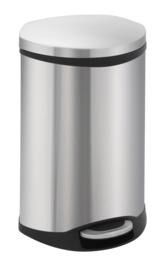 Shell bin, EKO mat RVS - 18 liter