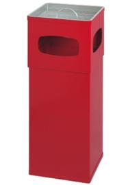Aluminium as-papierbak rood - 50 liter