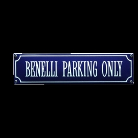 Eamille bord Benelli parking only 330x80mm