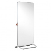 Chameleon Mobile dubbelzijdig whiteboard 890x1920mm wit/ frame grijs