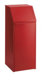 Afvalverzamelaar rood - 70 liter