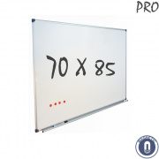 Whiteboard 700x850mm magnetisch emaille pro