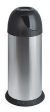 Ronde swing afvalbak RVS  - 40 liter