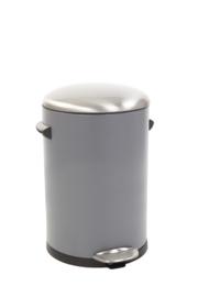Belle Deluxe pedaalemmer, EKO grijs - 12 liter