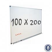 Whiteboard 1000x2000mm magnetisch