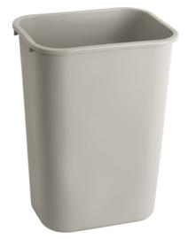 Rechthoekige afvalbak grijs, Rubbermaid - 39 liter