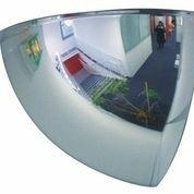 Panoramische binnenspiegel plexiglas rond 660mm kwart bol