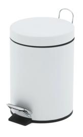 pedaalemmer wit - 5 liter