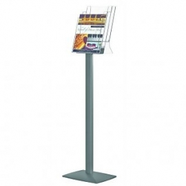 Pillar brochure stand