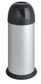 Ronde swing metalic afvalbak  - 40 liter