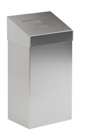 Afvalbak met push/ touchdeksel 10 tot 20 liter