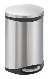 Shell bin, EKO mat RVS - 10 liter