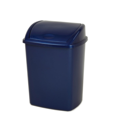 Afvalbak blauw - 26 liter ( set 16 stuks )