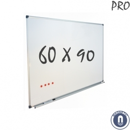 Whiteboard 600x900mm magnetisch emaille pro