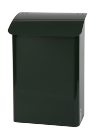 Stalen brandveilige brievenbus 290x180x425mm groen