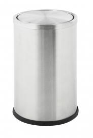 Papierbak Swing mat RVS - 10 liter