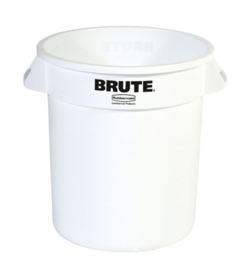 Ronde Brute container wit, Rubbermaid - 37,9 liter