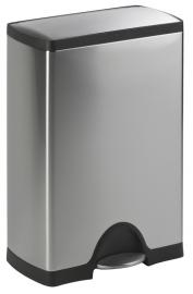 Pedaalemmer Rectangular, Simplehuman mat RVS - 50 liter