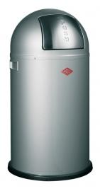 Pushboy, Wesco aluminium grijs - 50 liter