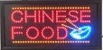 LED bord 500x280x22mm CHINESE FOOD deluxe
