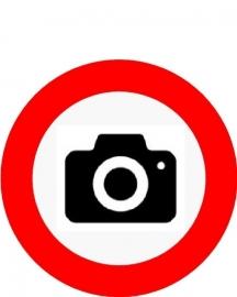 cameraverbod rond 400mm DOR