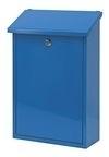 Wandbrievenbus Toledon 120x270x400mm blauw
