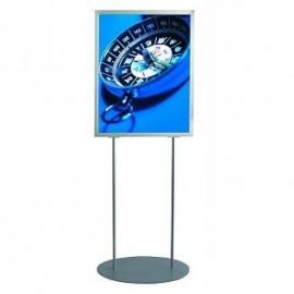 Oval informatiebord