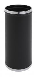 Paraplustandaard zwart met verchroomde rand