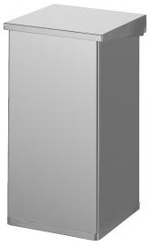 Carro Lift met demper aluminiumgrijs - 55 liter