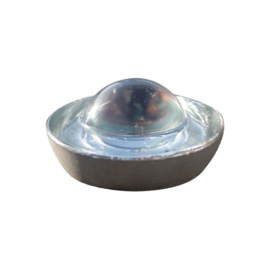 Wegdekreflector glasbol rond 100mm