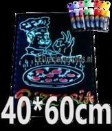 LED schrijfbord 400x600mm met 90 LED functies