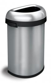 Semi-round Open Bin, Simplehuman - 60 liter
