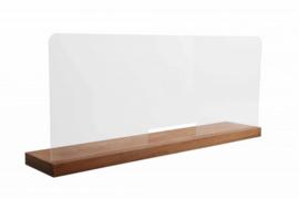 Beschermingspaneel Balie Staand  70 x 42 cm