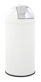Pushcan wit, EKO - 40 liter