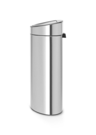 Touch Bin New Recycle, Brabantia mat RVS - 1 x 10 en 1 x 23 liter