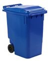 Mini container blauw - 360 liter