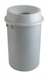 Kunststof afvalbak met open top - 60 liter