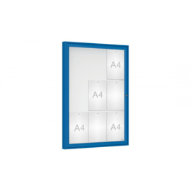 vitrine Klassiek vleugeldeur 750x1050x58mm
