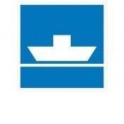 scheepvaartbord E.4.a klasse III DOR