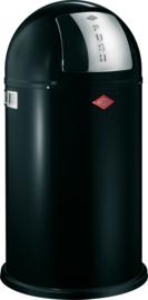 Pushboy, Wesco mat zwart - 50 liter